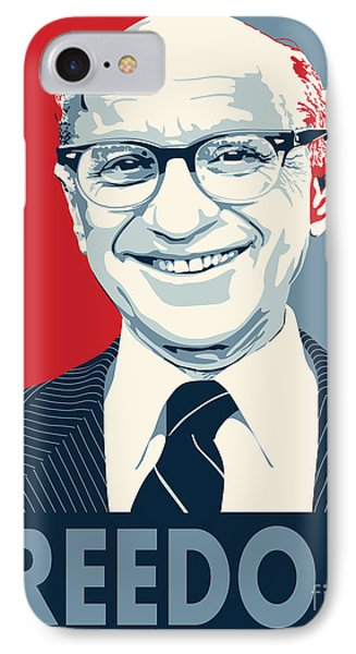 Milton Friedman IPhone Case