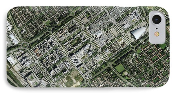 Milton Keynes, Aerial Photograph IPhone Case