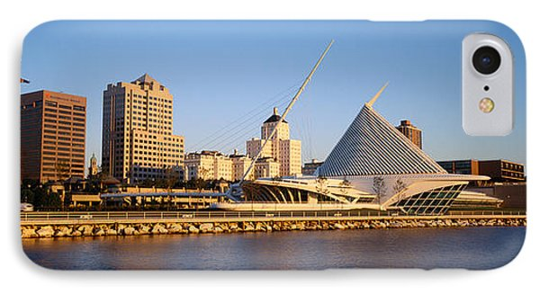 Milwaukee Art Museum Milwaukee Wi IPhone Case by Panoramic Images