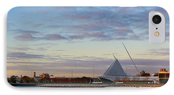 IPhone Case featuring the photograph Milwaukee At Sunrise  by Ricky L Jones