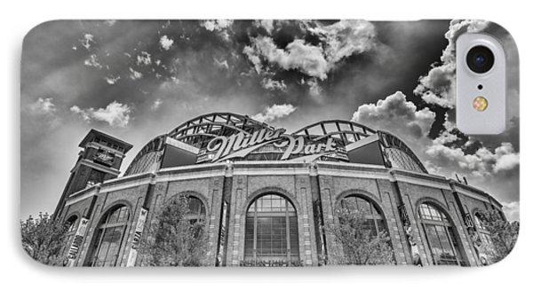 Milwaukee Brewers Miller Park 7 IPhone Case