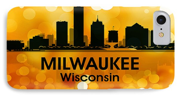Milwaukee Wi 3 IPhone Case