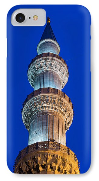 Minaret At Night IPhone Case by Hans Engbers