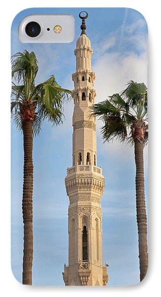 Minaret Of Mosque, Alexandria, Egypt IPhone Case