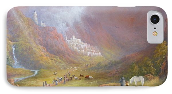 Minas Tirith  War Approaches. IPhone Case by Joe  Gilronan