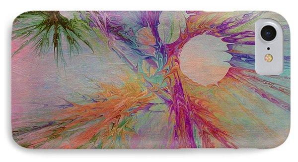 Mind Energy Aura IPhone Case by Deborah Benoit
