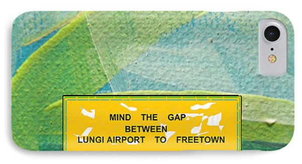 Mind The Gap IPhone Case by Mudiama Kammoh