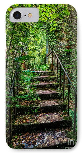 Mind Your Step IPhone Case by Adrian Evans