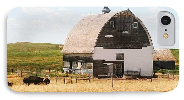 Minden Nebraska Old Farm And Barn IPhone Case by PainterArtist FIN