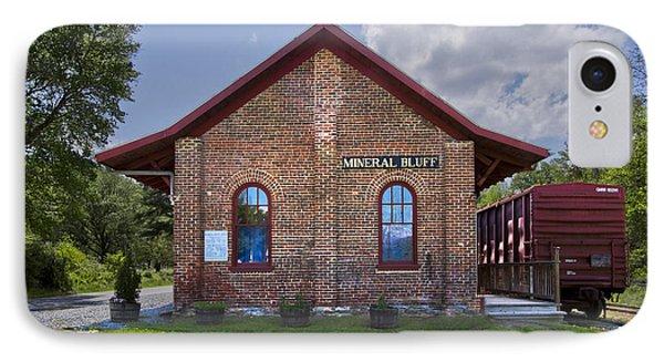 Mineral Bluff Station Phone Case by Debra and Dave Vanderlaan