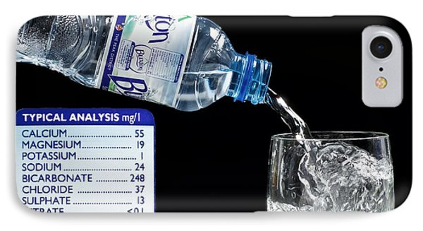 Mineral Water And Its Mineral Content Phone Case by Martyn F. Chillmaid
