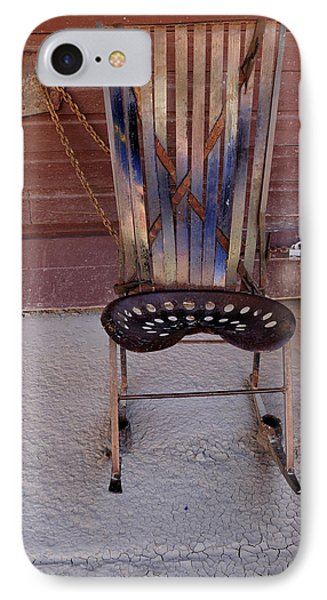 IPhone Case featuring the photograph Miner's Rocker by Fran Riley