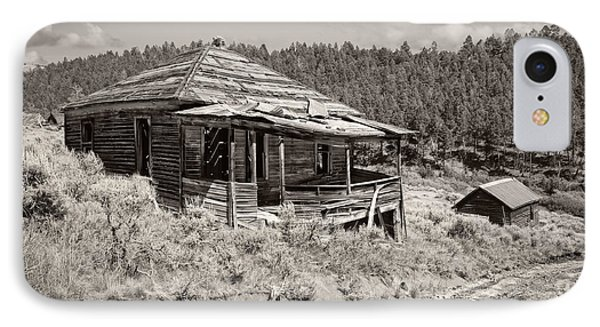 Miner's Shack - Comet Ghost Mine - Montana IPhone Case by Daniel Hagerman