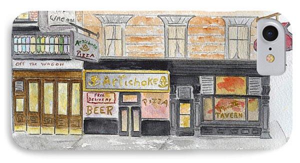 Minetta Tavern  Greenwich Village IPhone Case by AFineLyne