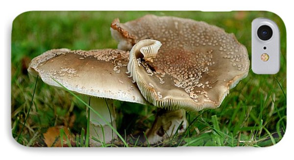 IPhone Case featuring the photograph Mingling Mushrooms by Scott Lyons