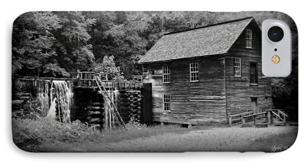 Mingus Mill -- Black And White Poster IPhone Case