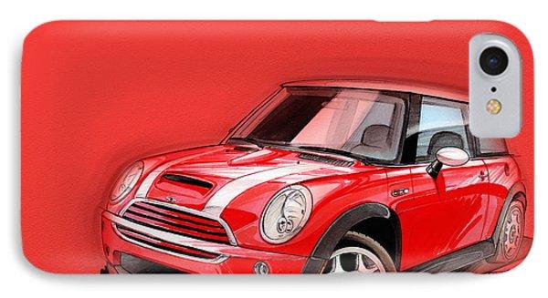 Mini Cooper S Red IPhone Case