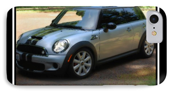 Mini Cooper Sport Phone Case by Kathy Sampson