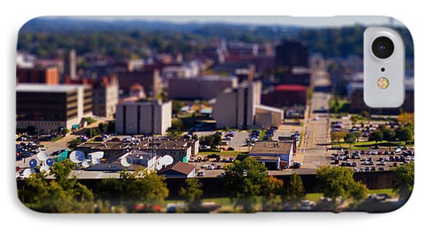 Mini Downtown Parkersburg IPhone Case by Jonny D