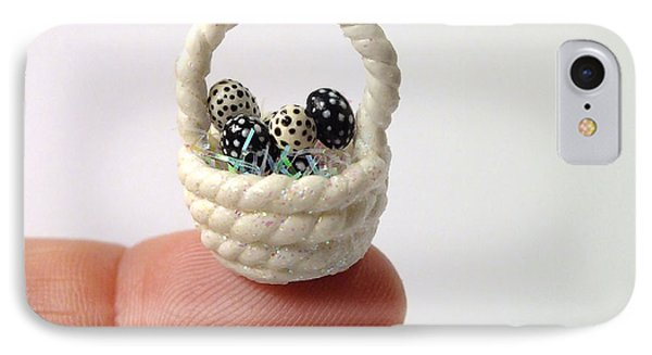 Mini Spotted Easter Basket IPhone Case