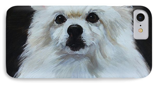 Miniature American Eskimo Dog IPhone Case