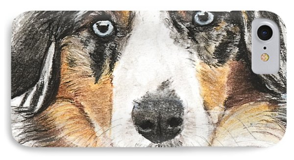 Miniature Australian Shepherd IPhone Case