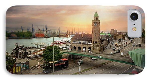 Miniature Hamburg IPhone Case