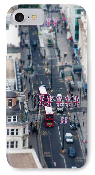 Miniature Oxford Street IPhone Case by Matt Malloy