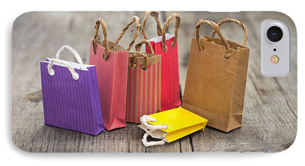 Miniature Shopping Bags IPhone Case