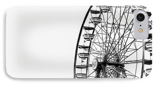 Minimalist Ferris Wheel IPhone Case by Jon Woodhams