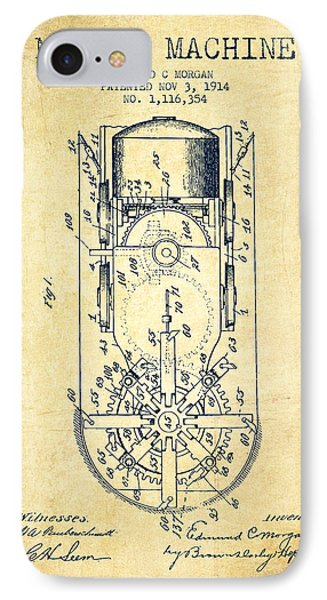 Mining Machine Patent From 1914- Vintage IPhone Case by Aged Pixel