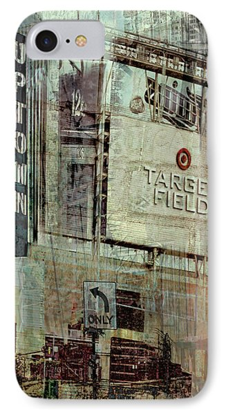 Minneapolis Area Collage Phone Case by Susan Stone