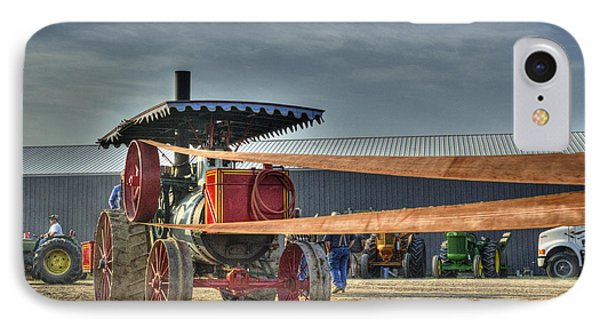 Minneapolis Return Flue Threshing IPhone Case by Shelly Gunderson