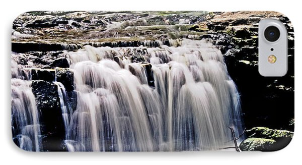 Minneopa Falls Upper Phone Case by Mark Russell