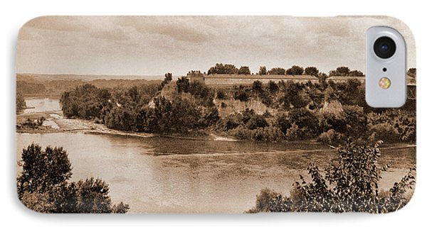 Minnesota, Mississippi River At Winona, Rivers, Bridges IPhone Case