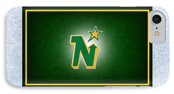 Minnesota North Stars Phone Case by Joe Hamilton