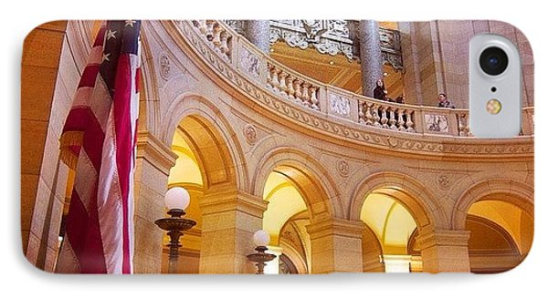 Minnesota State Capitol Building IPhone Case by Heidi Hermes