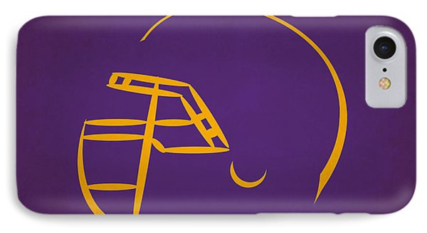 Minnesota Vikings Helmet IPhone Case by Joe Hamilton