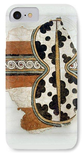 Minoan Livestock Painting Phone Case by Ellen Henneke