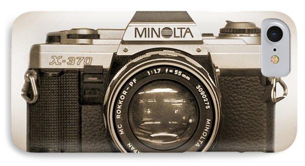 Minolta X-370 IPhone Case