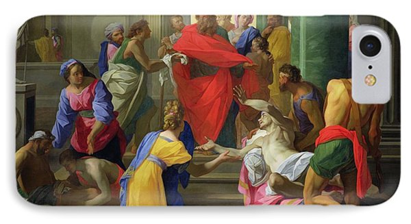Miracles Of St. Paul At Ephesus, 1693 Oil On Canvas IPhone Case