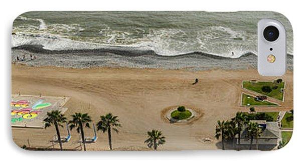 Miraflores Beach Panorama IPhone Case by Allen Sheffield