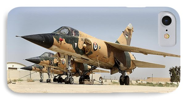 Mirage F.1 Fighter Planes Of The Royal Phone Case by Ofer Zidon