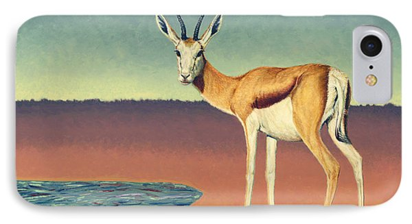 Mirage IPhone Case by James W Johnson