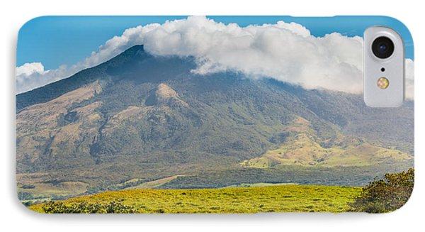 Miravalles Volcano Phone Case by Christina Klausen