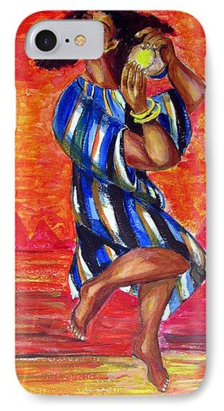 Miriam Dancing In Red Sea IPhone Case