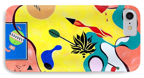 Miro Miro On The Wall IPhone Case by Thomas Gronowski