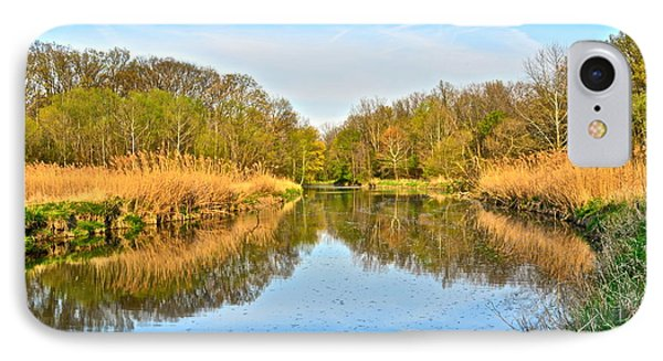 Mirror Canal IPhone Case by Frozen in Time Fine Art Photography