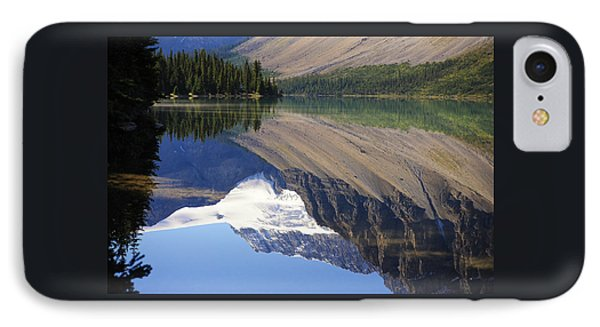 Mirror Lake Banff National Park Canada IPhone Case by Mary Lee Dereske