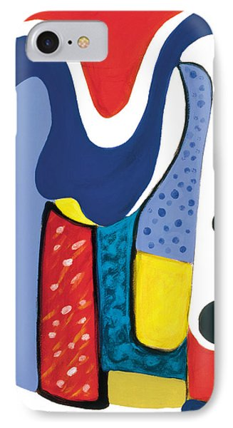 IPhone Case featuring the painting Mirror Of Me 1 by Stephen Lucas